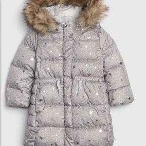 GAP Climate Control Long Toddler Puffer Coat